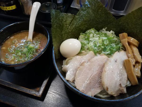 「元祖つけ麺 全部入り(大盛)」@麺の坊 晴レル屋の写真