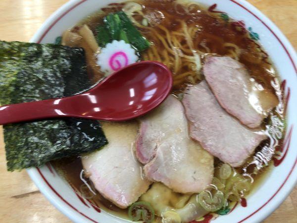 「ワンタン麺830円」@とら食堂 松戸分店の写真