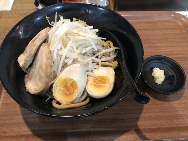 「ネオじろうA(しょうゆ)」@らーめん次郎冠者 上阿原店の写真
