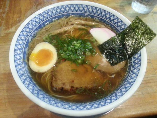 「流星麺 醤油」@流星軒の写真
