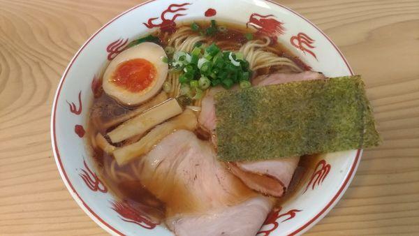 「中華そば 鶏」@ラーメンいっこくの写真