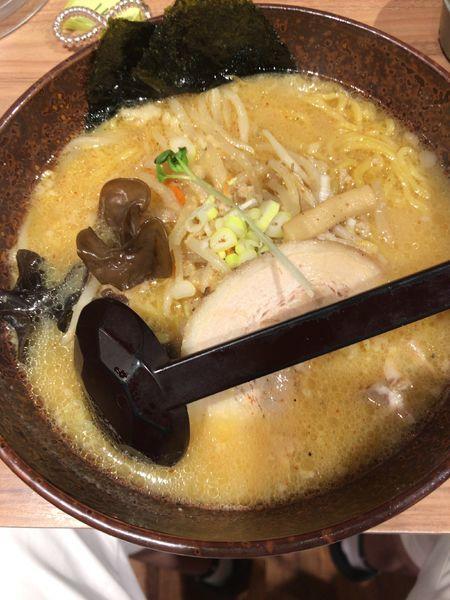 「味噌ラーメン(780円)」@白樺山荘 北海道ラーメン道場店の写真
