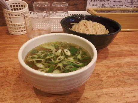 「塩つけ麺200g」@クラッチ ヒッターの写真