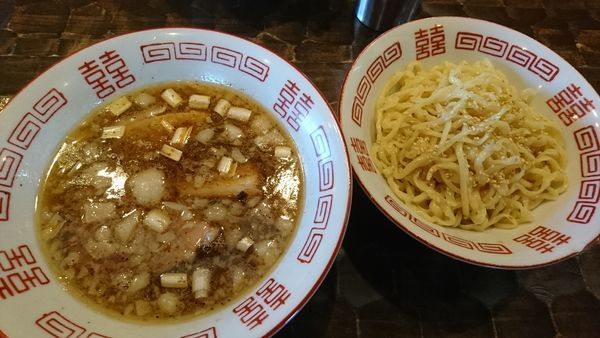 「中華つけそば」@特級鶏蕎麦 龍介の写真