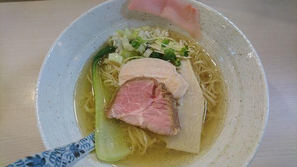 「しおそば中華麺」@蕎麦いなりの写真
