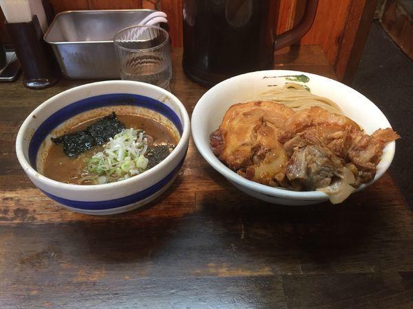 「つけ魚(中)+トロ豚」@雷 本店の写真