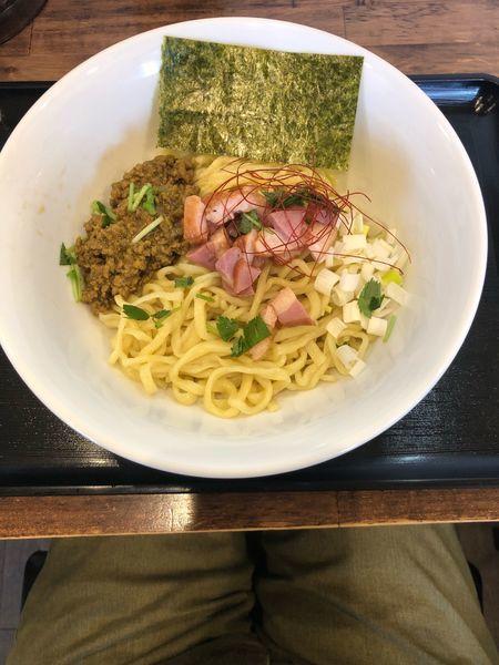 「カレー鴨油そば 700円」@麺屋 葵の写真