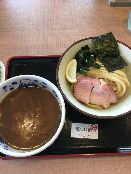 「塩つけ麺」@大勝軒てつの写真