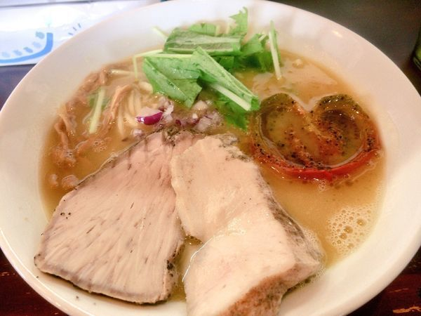 「鶏白湯(しょうゆ) 800円」@麺屋 京介の写真