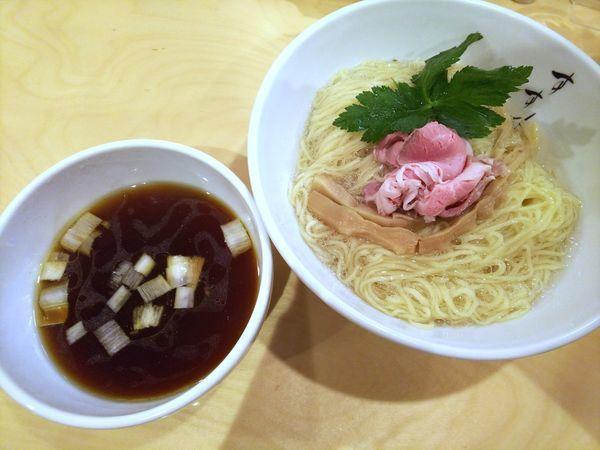 「がごめつけ麺 780円」@自然の恵み すすりの写真