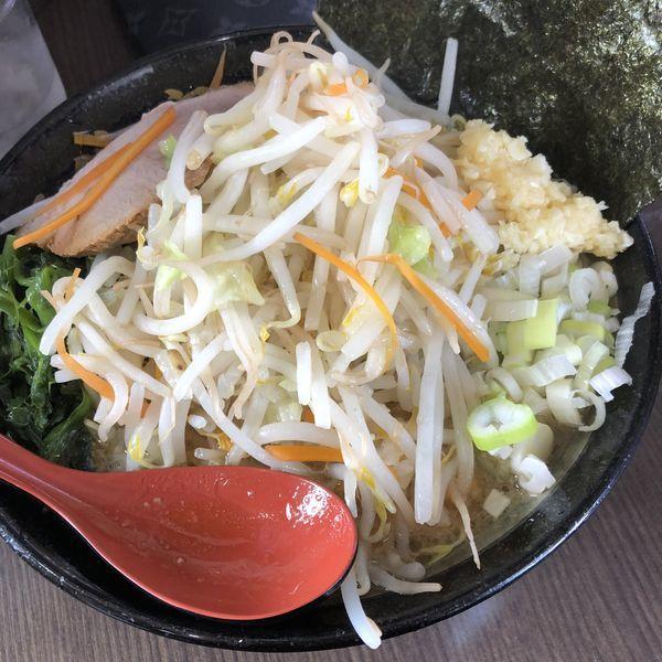 「野菜ラーメン」@横浜家系ラーメン 源絆家の写真