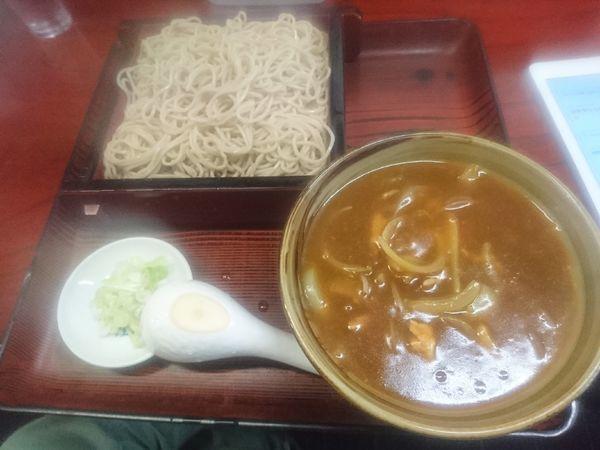 「カレーせいろ730円」@東嶋屋の写真