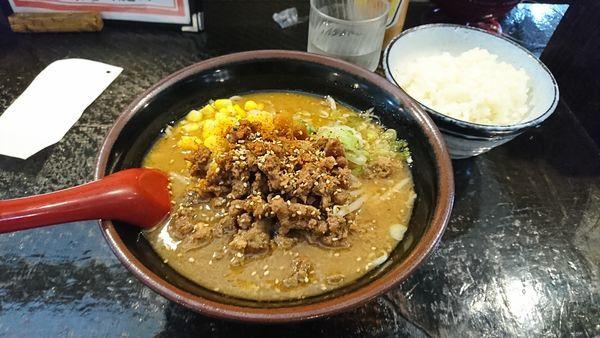 「肉味噌ラーメン」@じゃげな 辰野店の写真