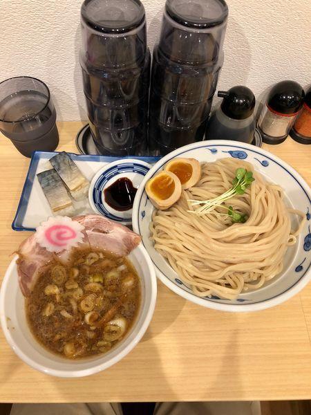 「さばつけ麺」@サバ6製麺所 南森町店の写真
