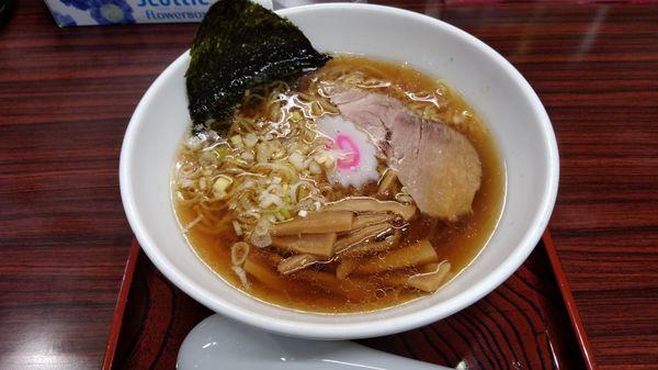 「醤油ラーメン 550円」@らーめん 寿限無の写真