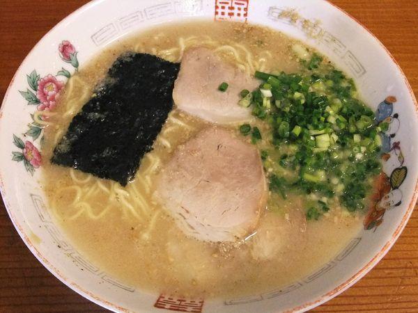 「ラーメン(並)(650円)」@バスラーメンの写真