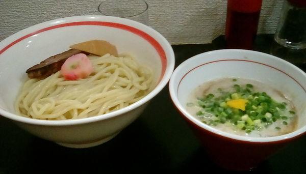 「[限定]濃厚チキンポタージュつけ麺」@自家製麺SHINの写真