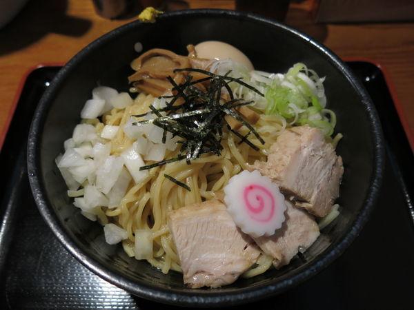「油そば(並)+味玉:720円+100円」@汁麺屋 胡座の写真