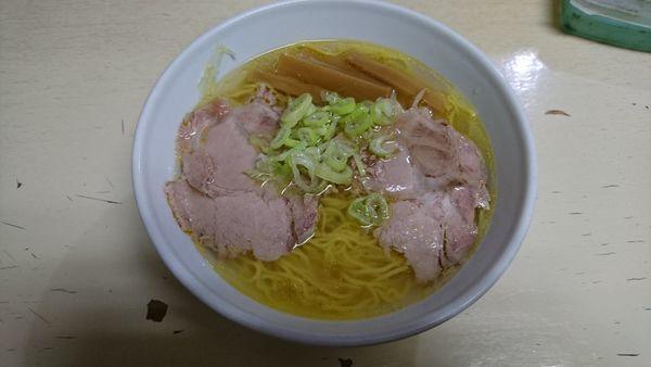 「塩ラーメン700」@元祖一条流がんこ 西早稲田店の写真