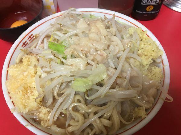 「ラーメン小¥690+生卵¥50+ショウガ¥50(現金)」@ラーメン二郎 仙台店の写真