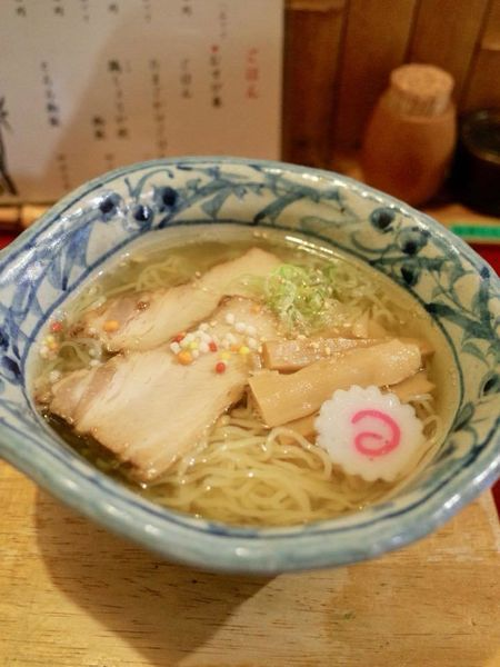 「平日限定ランチ(竹燻製麺)&燻製チャーシュー」@麺 玉響 刈谷店の写真