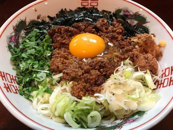 「台湾まぜそば  800円」@麺屋くまがいの写真