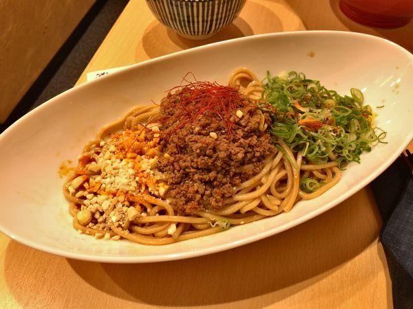 「汁なし坦々麺」@濃厚鶏そば 葵の写真