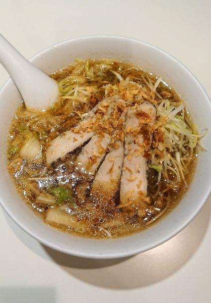 「鶏塩ラーメン」@神座飲茶樓 東京駅グランルーフ店の写真