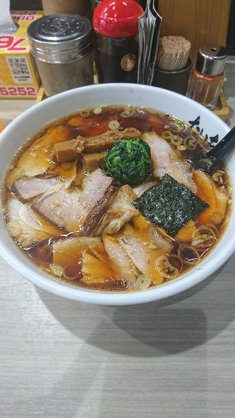 「正油チャーシュー麺」@ラーメン たいちの写真