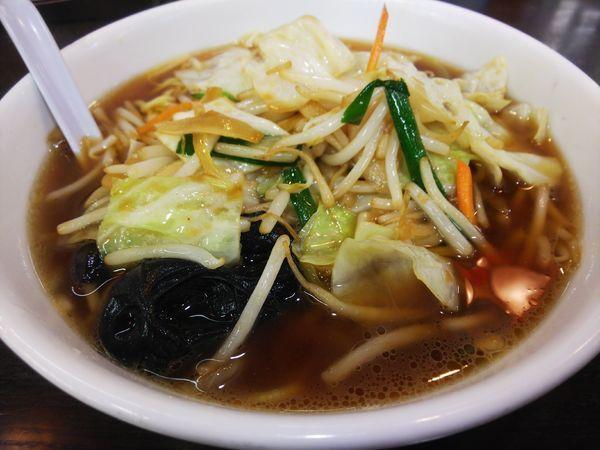 「野菜ラーメン(醤油)713円」@南京亭 日高店の写真
