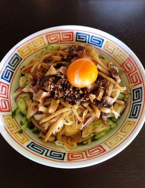 「ぶっかけ麺」@拉麺 時代遅れの写真