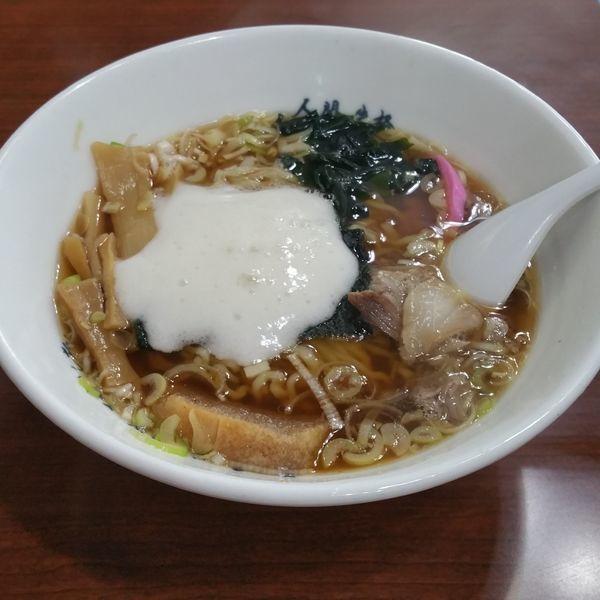 「津軽の煮干中華」@太宰らうめんと津軽のめしや「めぇ」の写真