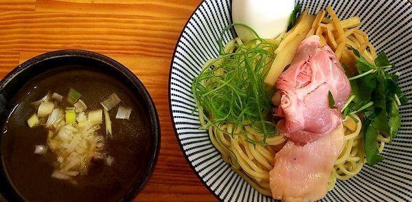 「煮干しつけ麺濃いめ」@中華そば よしかわの写真