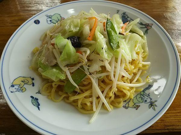 「チャーメン(炒めそば) (麺大盛り)」@テンホウ 米沢店の写真