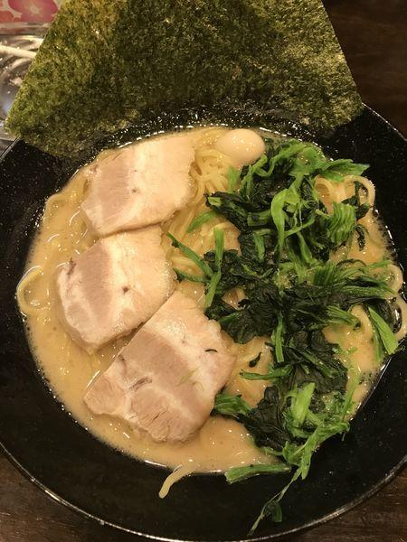 「醤油ラーメン大(¥972)」@横浜家系ラーメン 翔家 藤岡店の写真