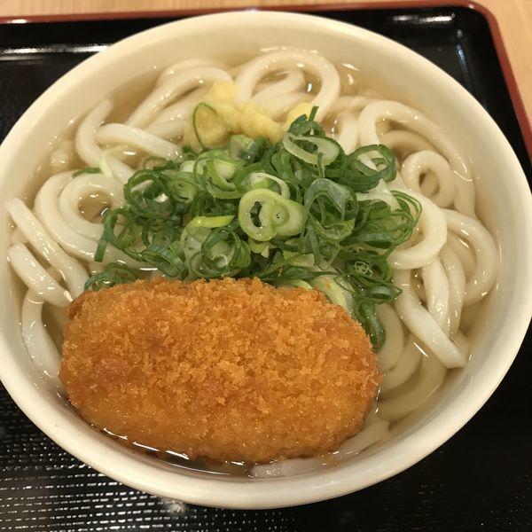 「※あつかけ(¥270)+クラムチャウダーコロッケ(¥110)」@たも屋 有楽町店の写真