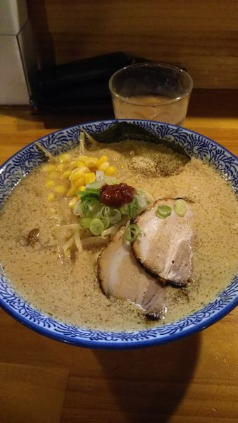 「白味噌ラーメン」@麺処 門つるの写真