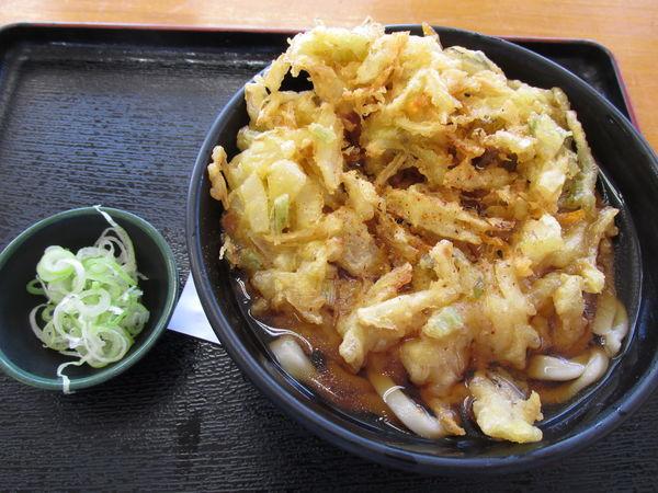 「天ぷらうどん」@あぐり亭の写真