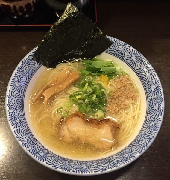 「あっさり鶏そば750円」@征麺家 かぐら屋の写真