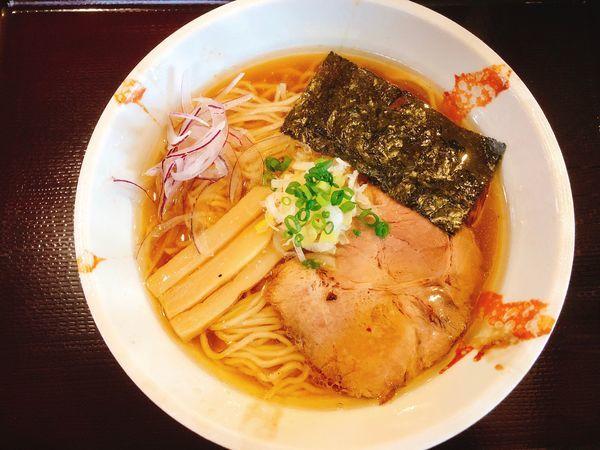 「魚貝蛤そば」@麺奏 神楽の写真