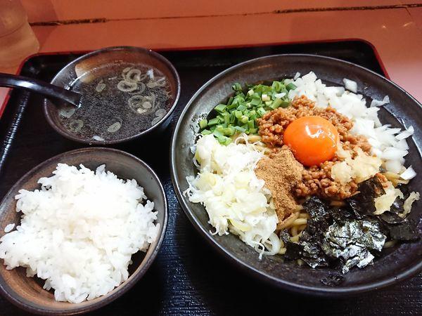 「台湾まぜそば(追い飯・スープ付き)780円」@ラーメン そうすけの写真