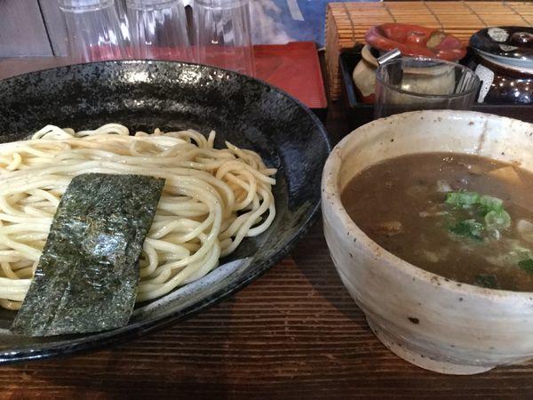 「豚骨魚介つけ麺820円」@麺屋たつみ 大心の写真