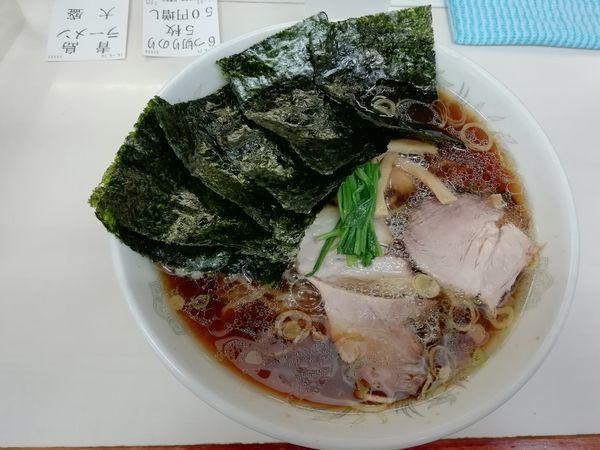 「ラーメン大硬め+のり」@青島食堂 秋葉原店の写真