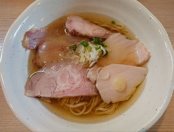 「鯖の塩鶏そば」@麺処 鶏谷の写真