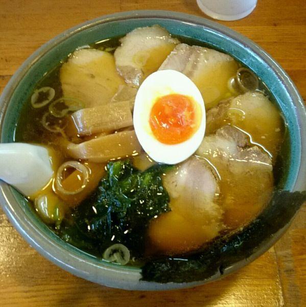 「チャーシュー麺 醤油」@佐野ラーメン たかのの写真