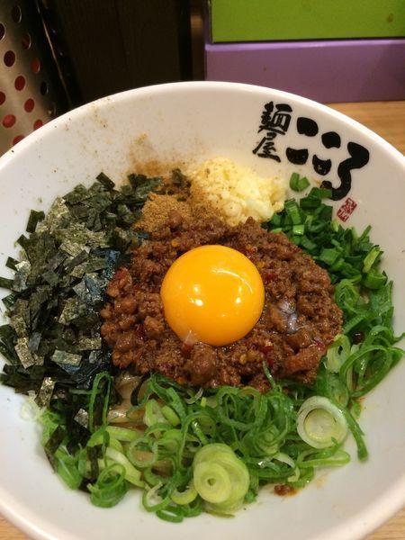 「台湾まぜそば830円」@麺屋 こころ 大岡山本店の写真