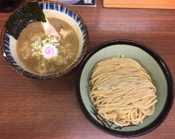 「煮番搾り850円(並)」@つけめん 三三㐂の写真