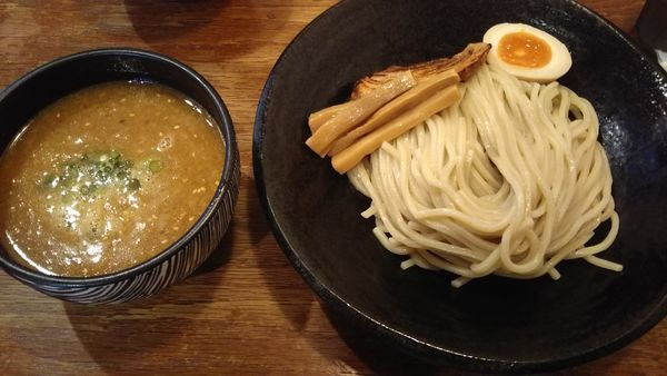 「味噌つけめん シャバ系」@麺屋 花菱の写真