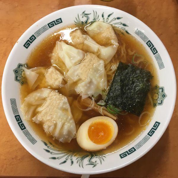 「期間限定 ワンタン麺餃子セット790円」@日高屋 キュービックプラザ新横浜店の写真