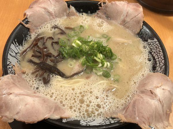 「チャーシューメン」@博多 一幸舎 エキマルシェ大阪店の写真